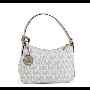 Michael Kors Vanilla Signature Handbag